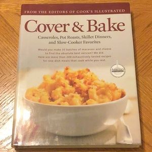 Other - Cover & Bake cookbook